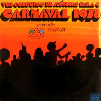 d67b097c44 VIII Concurso de Musicas Para O Carnaval (1978)